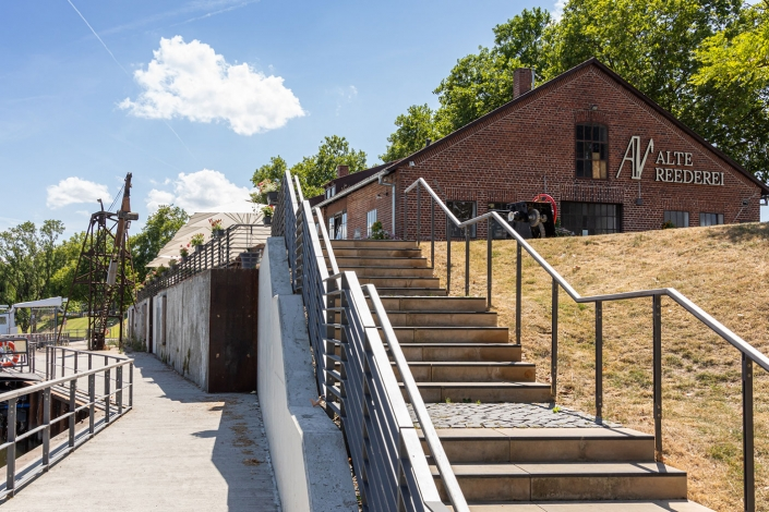 Alte Reederei Heilbronn Außenansicht